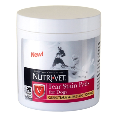 Nutri-Vet Tear Stain Removal Pads - 90 ct.