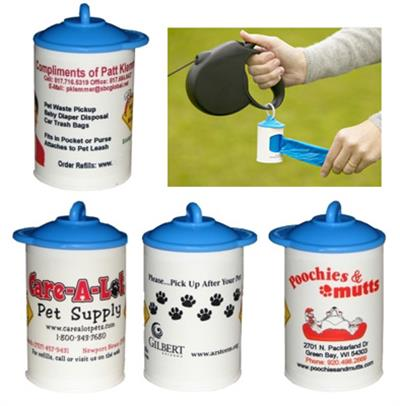 Bags on Board Custom Labeled  Canisters - your logo