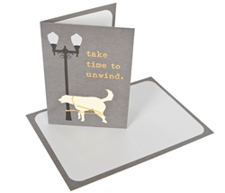 Take Time To Unwind - Greeting Card - 6 pack