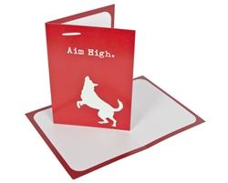 Aim High - Greeting Card