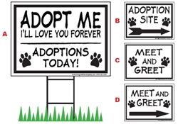 Adoption Site Signs