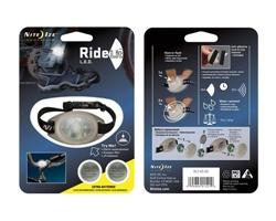 RideLit - LED Riding Light and Safety Flasher - White