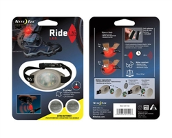 RideLit - LED Riding Light and Safety Flasher - Red