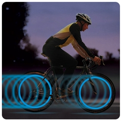 SpokeLit - LED Bike Light and Safety Flasher for Spokes
