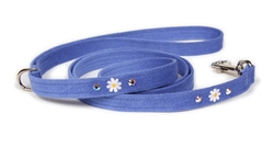 Small Daisies Ultrasuede® Leashes