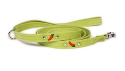 Chili Peppers Ultrasuede® Leashes