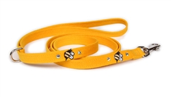 Bees Ultrasuede® Leashes