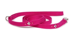 Crystal Paws Ultrasuede® Leashes