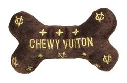 Chewy Vuiton Bone Toy