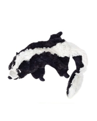 Plush Bottle Black Skunk