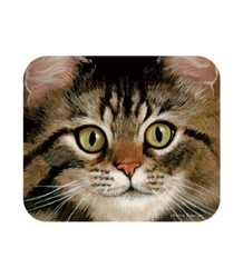 Brown Tabby Mouse Pad