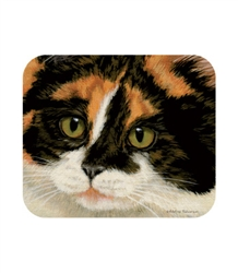 Calico Cat Mouse Pad