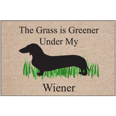 The Grass is Greener… - Doormat