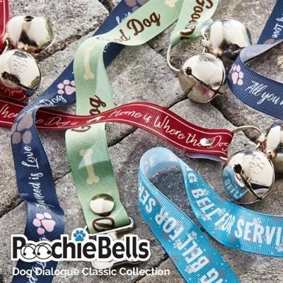 Dog Dialogue Classic PoochieBells® The Original Dog Potty Training Doorbell Bell