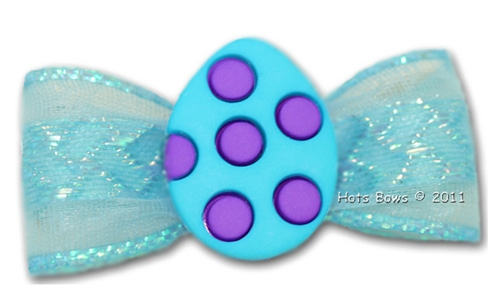 Dotted Egg, Blue