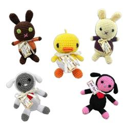 Easter Collection - Knit Knacks - Organic Cotton Crocheted Toys