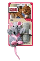 Kong® Refillable Catnip Toy - Rat