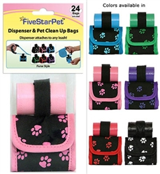 Paw Print Patented Purse Dispensers