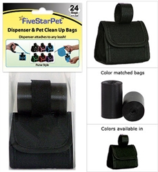 Solid Black Patented Purse Dispensers