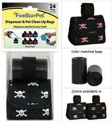 Skull & X-Bones Patented Purse Dispensers