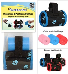 Paw Print Patented Barrel Dispensers