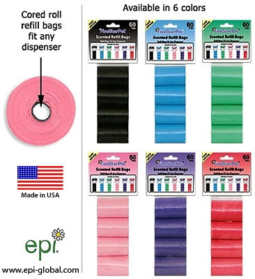 60 Scented Cored Refill Bags