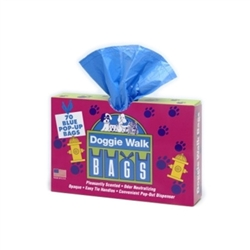 Classic Box Blue - Baby Powder - 70 Pop-Out Bags