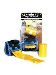 Designer Bags - Blue Paw - Yellow/Ocean - 2 Rolls