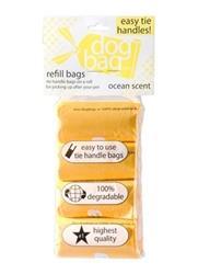 Duffel Refill - Tie Handle Bags - Yellow/Ocean - 4 Rolls
