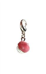 Cupcake D-Ring Charm - Nickel/Lead Free