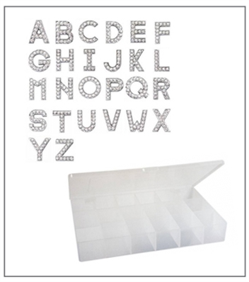 10mm or 8mm Slider Letters Starter Kit