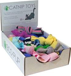 Eco-friendly Catnip Knot Toys