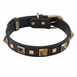Rock & Roll Collar & Leash - Tiger Eye
