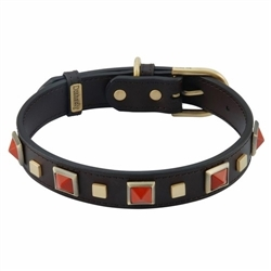 Rock & Roll Collar & Leash - Red Jasper