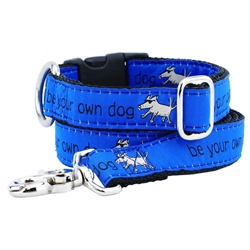 Be Your Own Dog Collars & Leads a Teddy The Dog & 2 Hounds Design Collaboration
