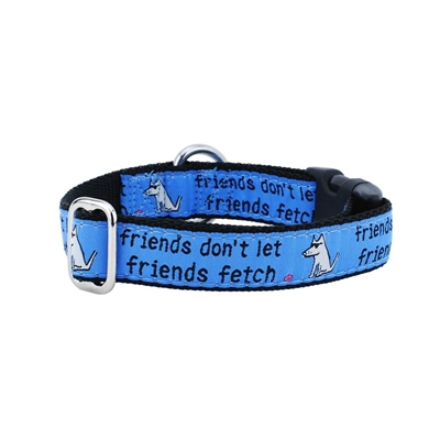 Friends Don't Let Friends Fetch Collars & Leads a Teddy The Dog & 2 Hounds Design Collaboration