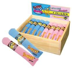 Pink and Blue Cigars with Birch Wood Box - 24 ct