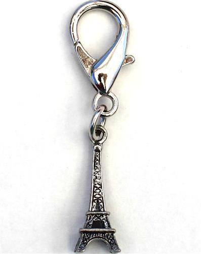 Eiffel Tower Charm - Silver