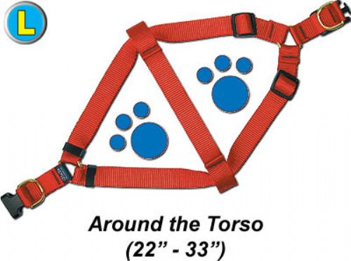 """Large Step-In Harness, 1""""W x 22-33"""""""