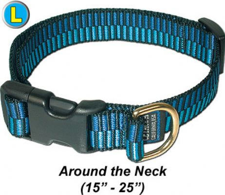 """Large Collar, Quick Release Buckle 1""""W x 15-25"""""""