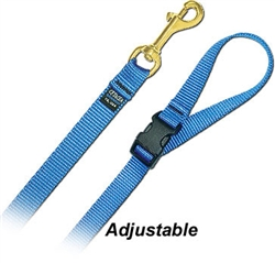 4' Long Nylon Leash with Quick Release Handle