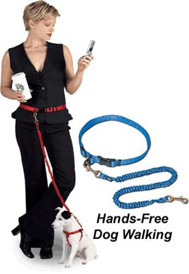 Hands-Free™ Drag-Free™ Leash