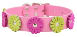 Flower Collars - Pink or Tan