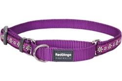 Daisy Chain Purple - Martingale Collar