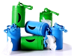 Blue Bio Dispenser & 2 Rolls