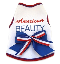 American Beauty -Tank - White