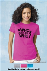 Who Rescued Who? - 2-Pack of T-Shirts