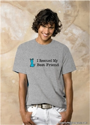 I Rescued My Best Friend - Blue Dog - 2-Pack of T-Shirts