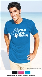 Peace Love Rescue - 2-Pack of T-Shirts