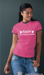 Bark To Find a Cure - 2-Pack of T-Shirts